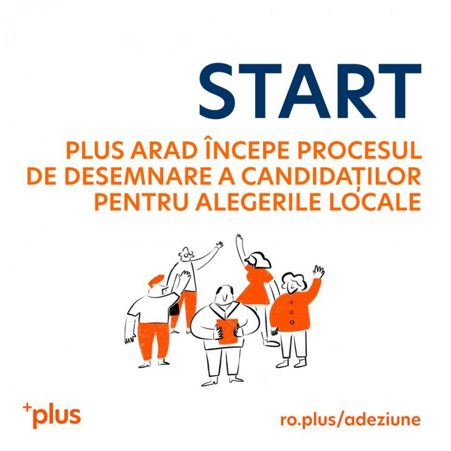 PLUS Arad a început campania internă pentru desemnarea candidaților la alegerile locale din 2020