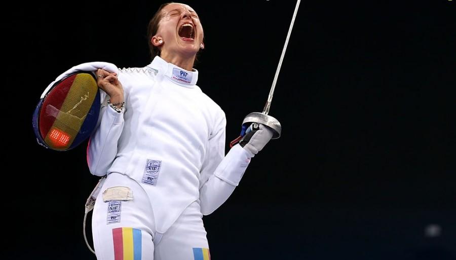 Ana Maria Popescu, noul lider mondial la spadă