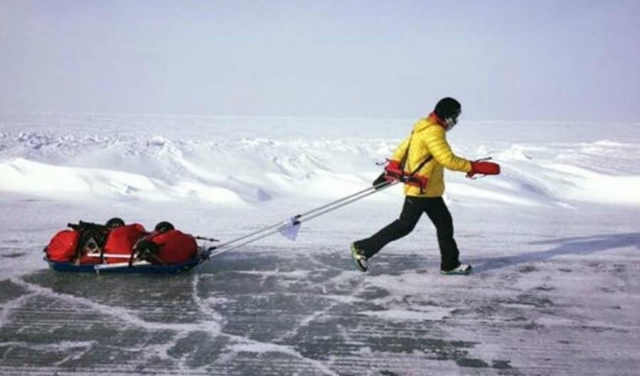 Când nu mai poți, mai poți un pic! Tibi Uşeriu, între primii trei concurenți la Yukon Arctic Ultra 2020