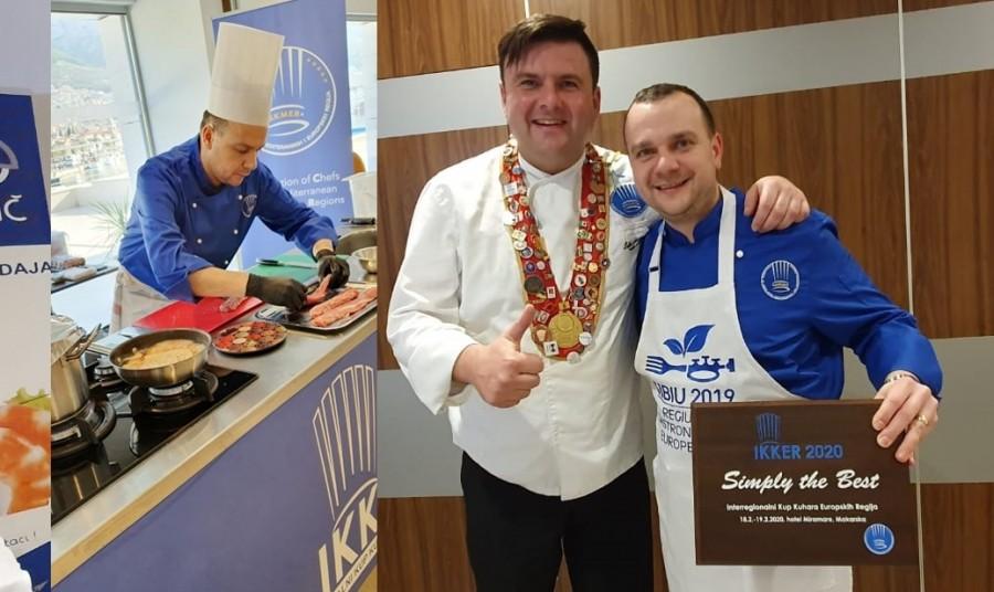 Un bucătar român, pe primul loc la Campionatul European Interregional de Gastronomie din Croația