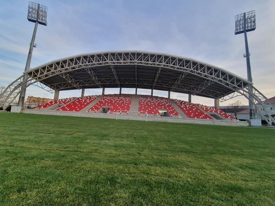 """Primăria caută o siglă pentru Stadionul """"Francisc Neuman"""""""