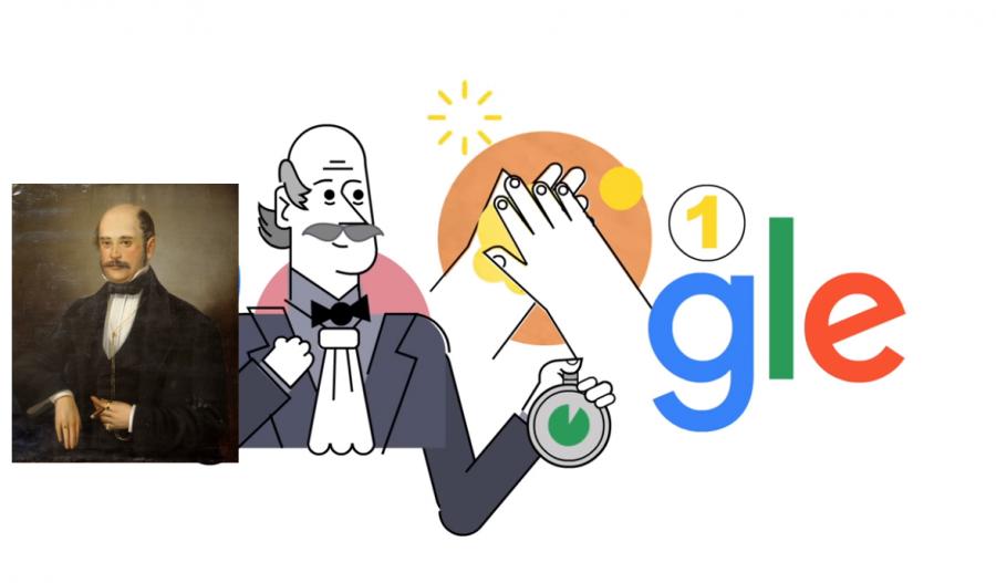 Medicul Ignaz Semmelweis, celebrat de Google în semn de recunoaștere a importanței spălării mâinilor