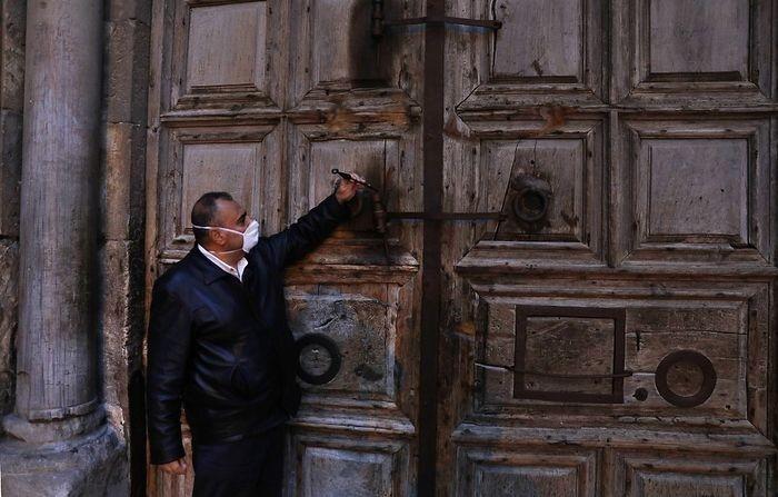 Biserica Sfântului Mormânt a fost închisă pentru o săptămână