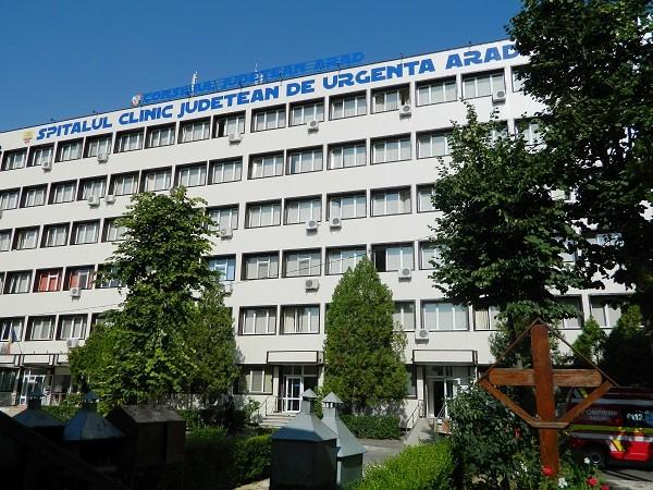 Spitalul Județean Arad folosește același tratament ca la Timișoara