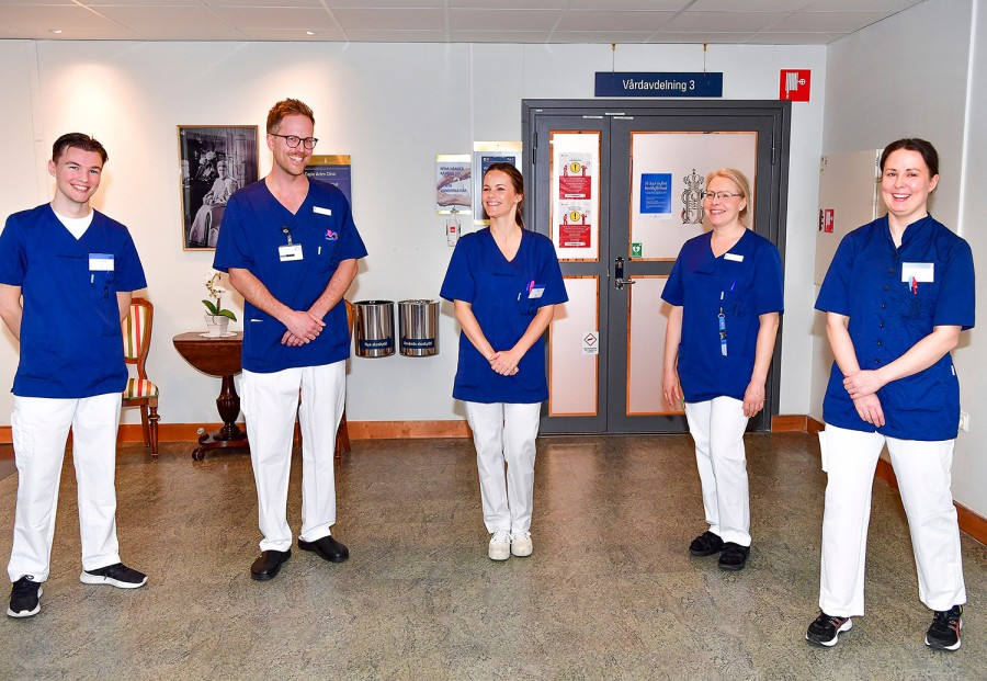 Prințesa Sofia a Suediei a făcut un curs medical pentru a lucra în spital cu pacienții COVID-19