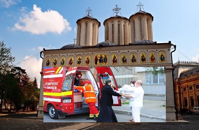 Ajutor de peste 14 milioane de lei din partea Bisericii Ortodoxe Române, în lupta cu pandemia de coronavirus