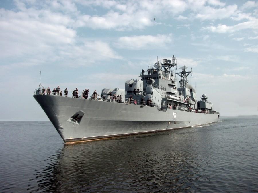 """Fregata """"Mărășești"""", la un secol de la intrarea în serviciul Marinei Militare Române"""