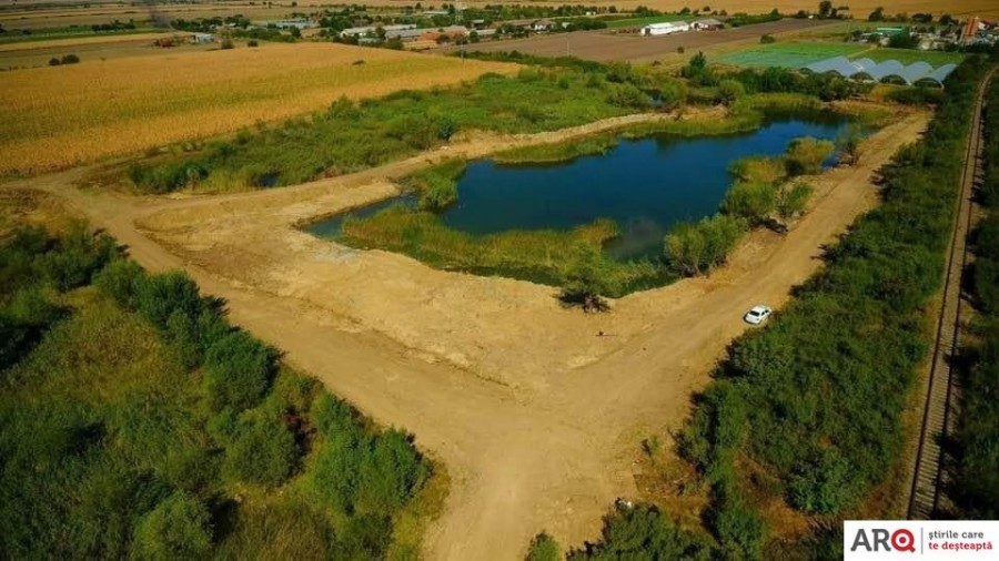 Balta Bagher de la Pâncota va deveni o zonă de agrement pentru pescari și locuitorii orașului