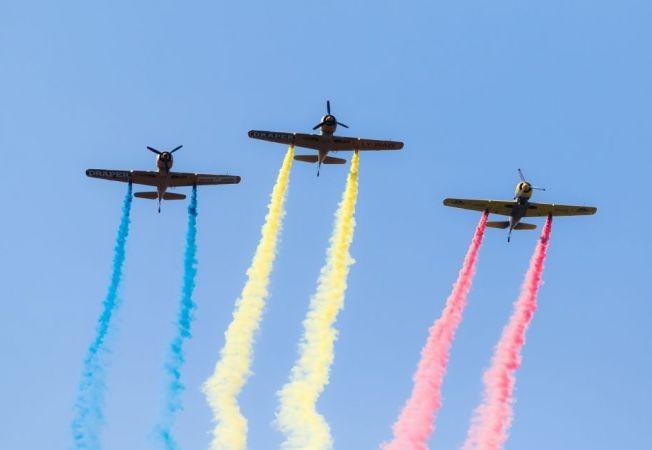 20 iulie - Ziua Aviaţiei Române şi a Forţelor Aeriene. La mulţi ani și Cer senin!