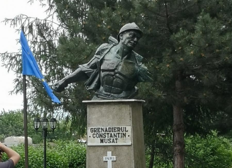 """103 ani de la """"Ultima grenadă a caporalului Mușat"""", războinicul fără mână de pe Frontul de Est"""