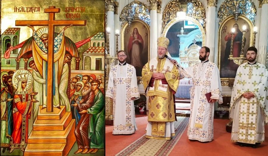 Înălțarea Sfintei Cruci. Liturghie Arhierească și Te Deum la începutul Anului școlar, în Catedrala Veche din Arad