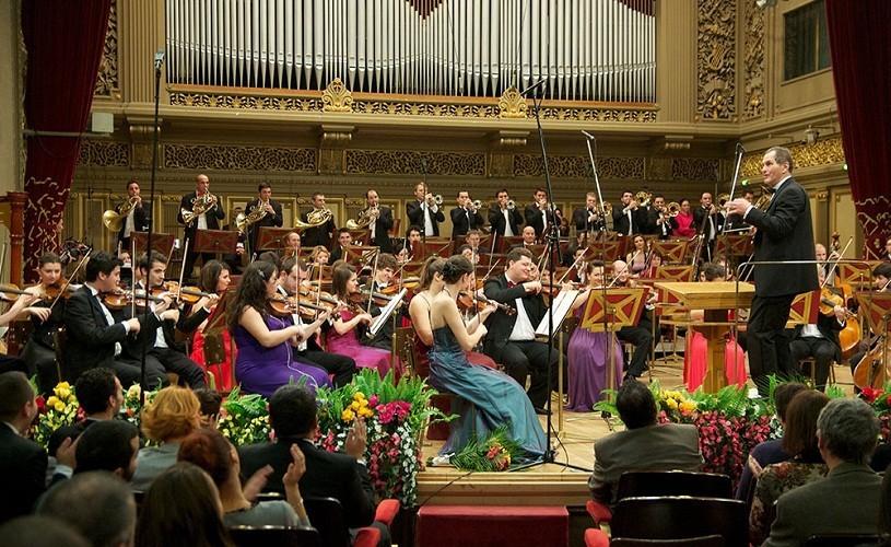 Orchestra Română de Tineret, în turneu naţional aniversar la 100 de ani de la înfiinţarea Societăţii Compozitorilor Români