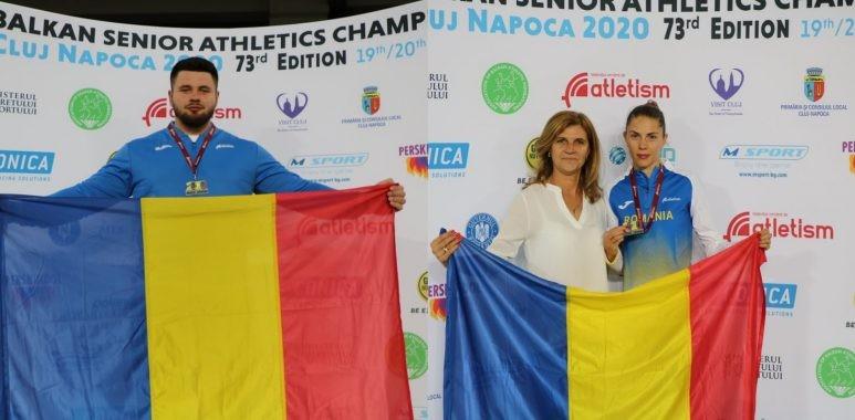 Trei medalii de Aur pentru România, în prima zi a Campionatului Balcanic de Atletism de la Cluj-Napoca