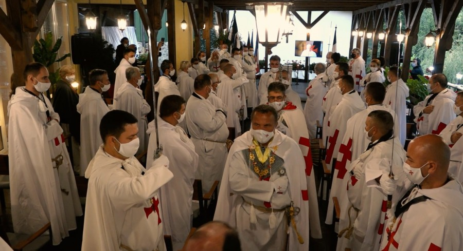 Eveniment unic la Moneasa! Înnobilare în aer liber în cadrul Ordinului Cavalerilor Templieri OSMTH!