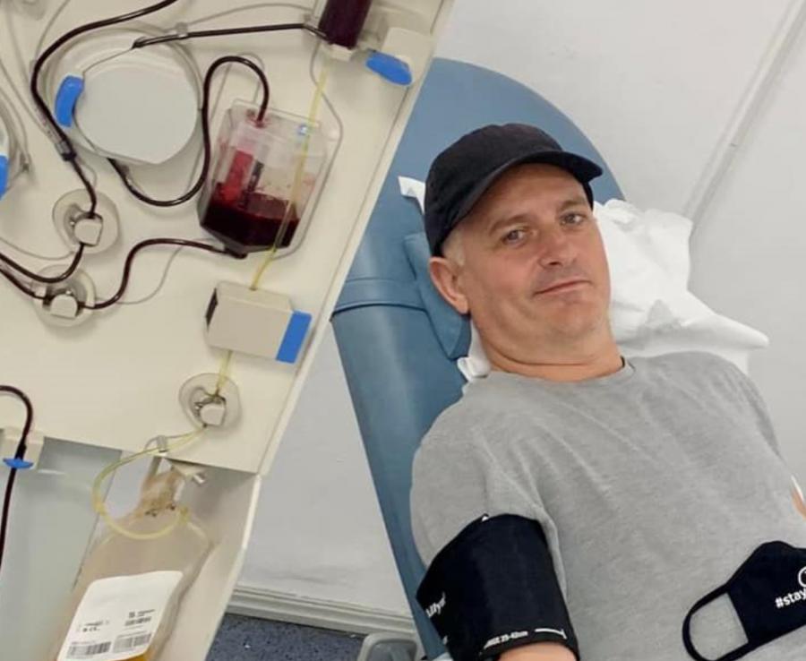 Virgil Ianțu: Cu o donație de plasmă puteți salva trei vieți. Vă rog, nu stați pe gânduri!