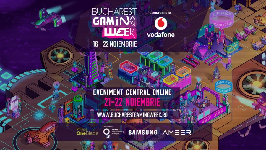 Începe Bucharest Gaming Week, cel mai mare eveniment dedicat industriei jocurilor video din România, ce se desfășoară exclusiv online - Evenimente conexe cu teme sociale
