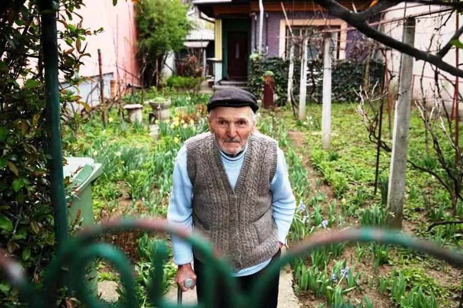 Veteranul de război Ștefan Grosu a împlinit 99 de ani