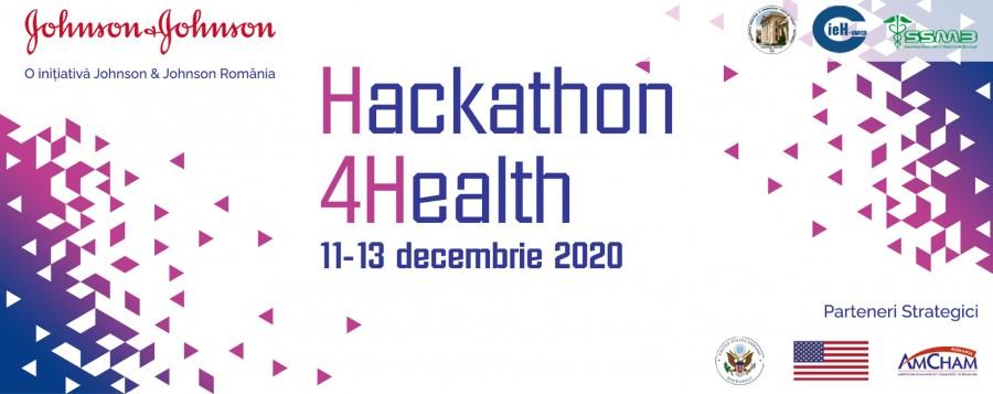 Hackathon4Health 2020, a patra ediție a hackathonului pe teme de sănătate va avea loc între 11 și 13 decembrie 2020