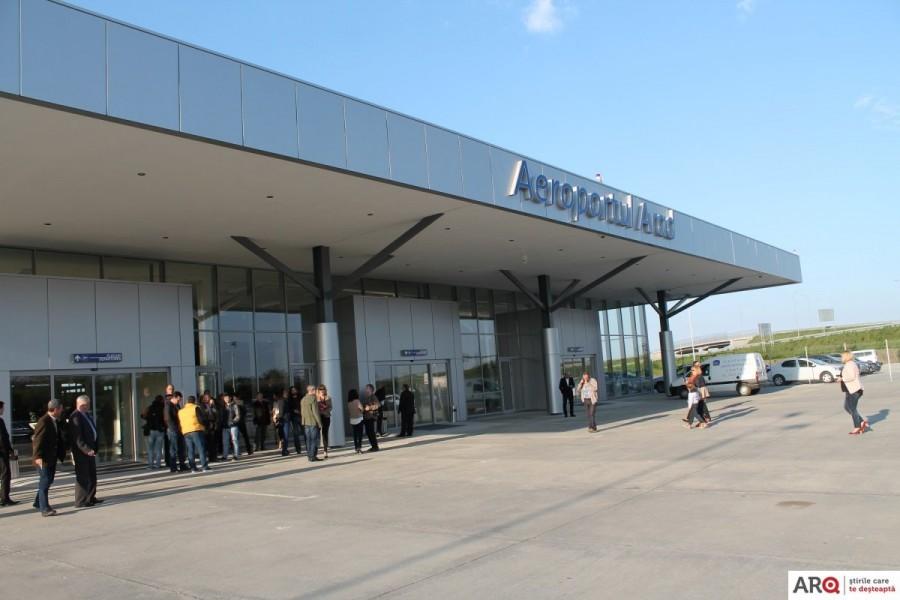Proiect european de 23 de milioane de lei pentru Aeroportul Arad