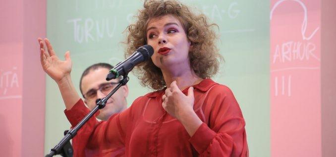 """Marina Palii, actriță a Teatrului """"Ioan Slavici"""" Arad - selectată în programul Berlinale Talents 2021"""