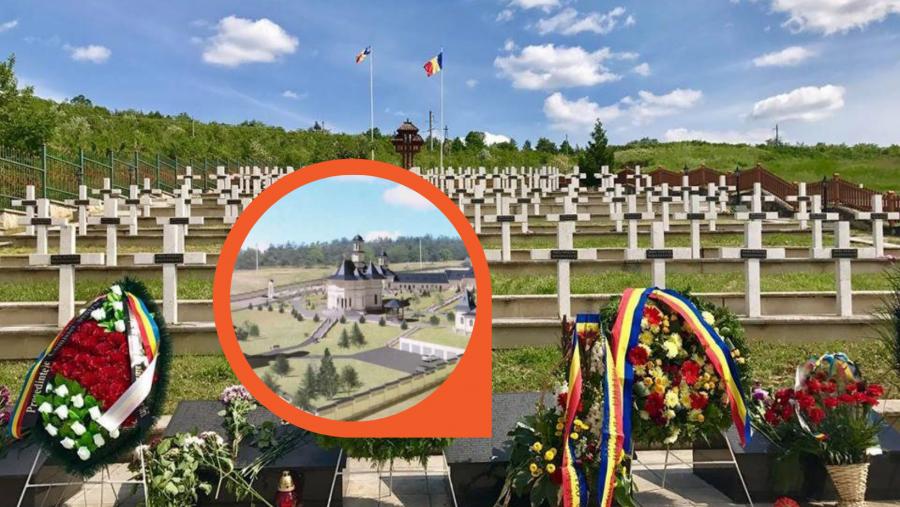 În Basarabia de Sud va fi construită prima mănăstire în memoria eroilor români înhumaţi la Tiganca