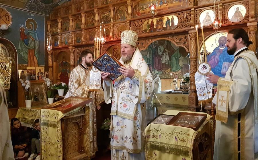 Dumnezeu nu ne cere să facem ceea ce întrece puterile noastre, ci să avem dragoste, compasiune și milă față de cei suferinzi - PS Emilian, la Mănăstirea Feredeu