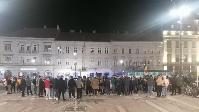 S-a lăsat cu amenzi, dar și cu dosare penale la Arad, în urma protestelor din ultimele zile