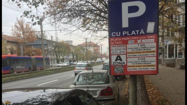 Parcarea va fi gratuită în weekend, iar în timpul săptămânii programul va fi redus, anunță Bibarț