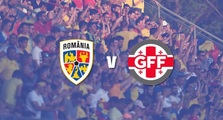 FRF a pus în vânzare bilete pentru meciul amical România - Georgia