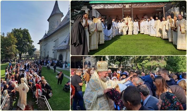 """(FOTO) PS Emilian Crișanul, la Catedrala Arhiepiscopală Sfântul Ioan cel Nou de la Suceava: """"Dragostea lui Dumnezeu este liantul dintre Cer și pământ"""""""
