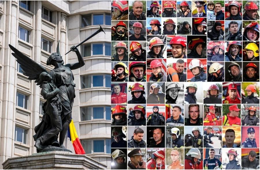 Astăzi este Ziua Pompierilor din România