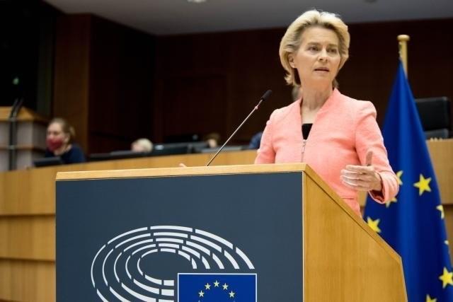 Viva l'Europa: Ursula von der Leyen a susținut discursul anual privind starea Uniunii