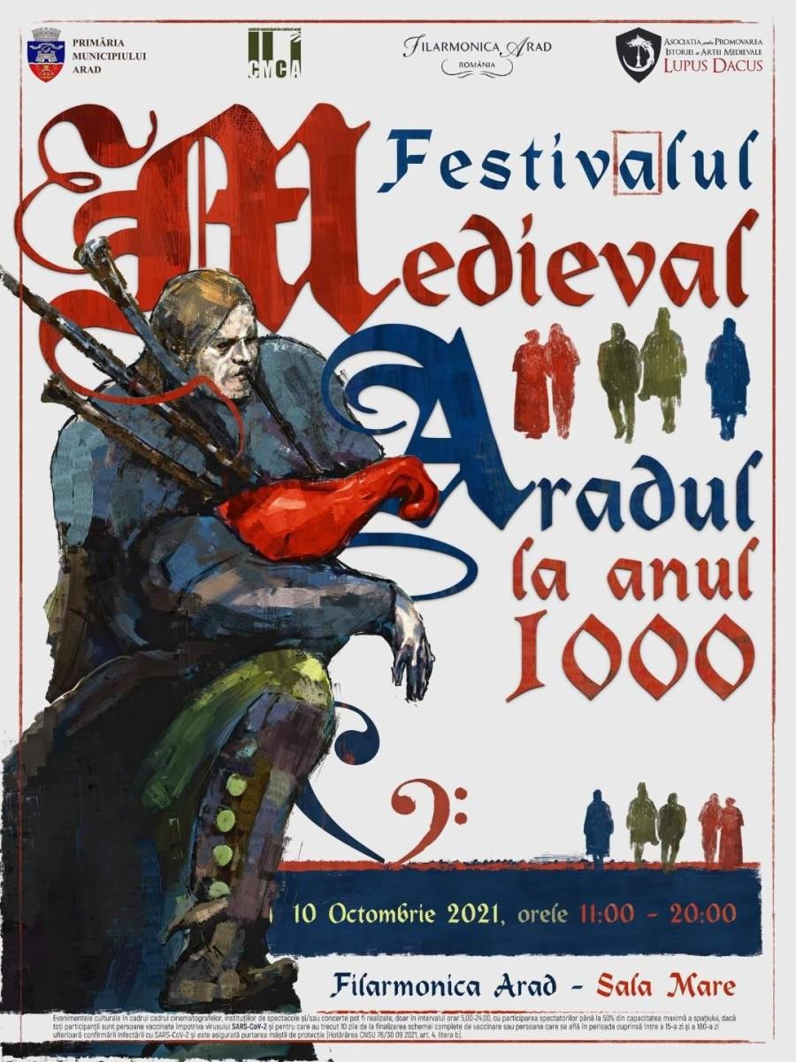 """Festivalul medieval """"Aradul la anul 1000"""" a ajuns la ediția a IV-a"""