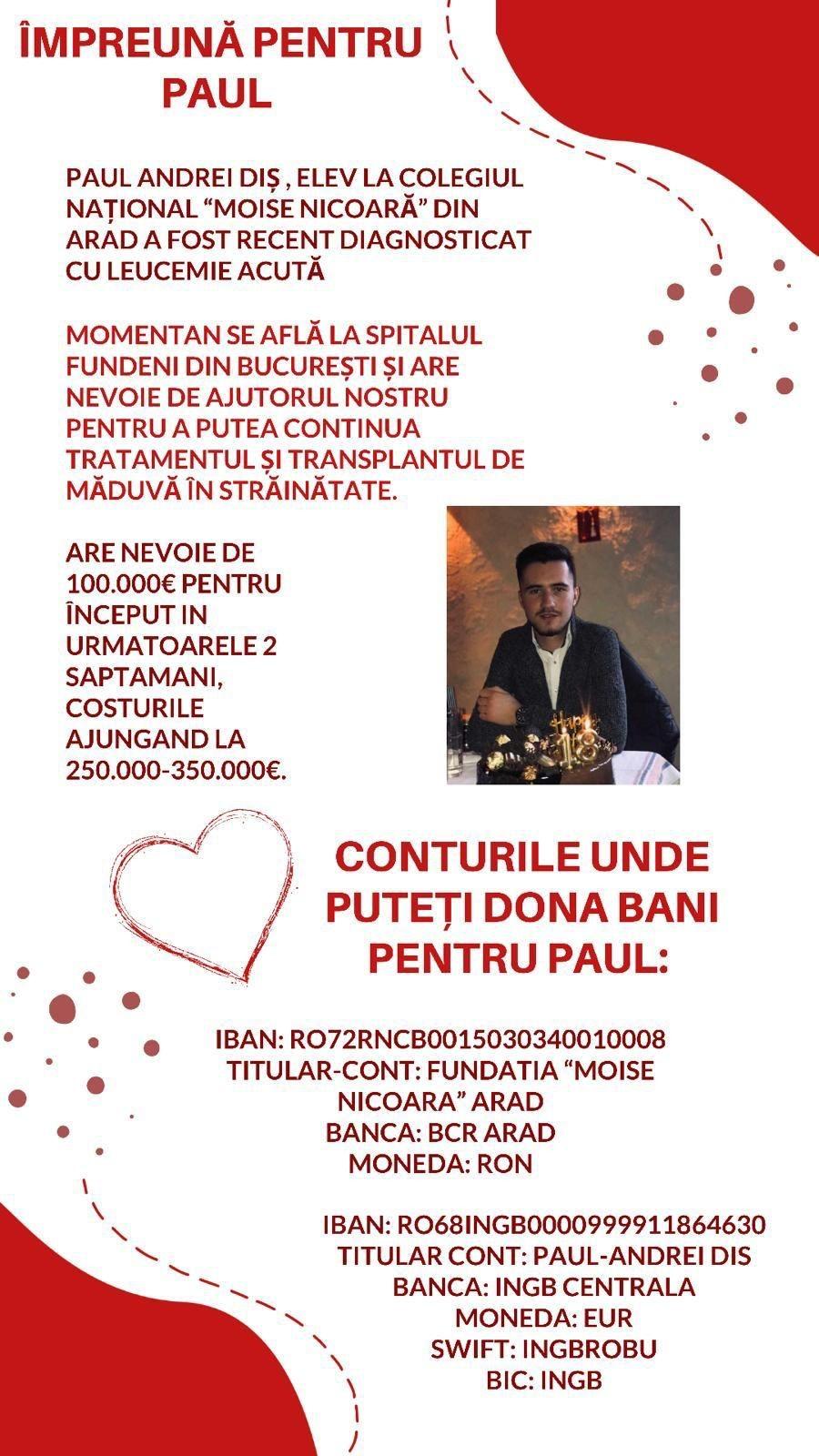 Impreuna pentru Paul