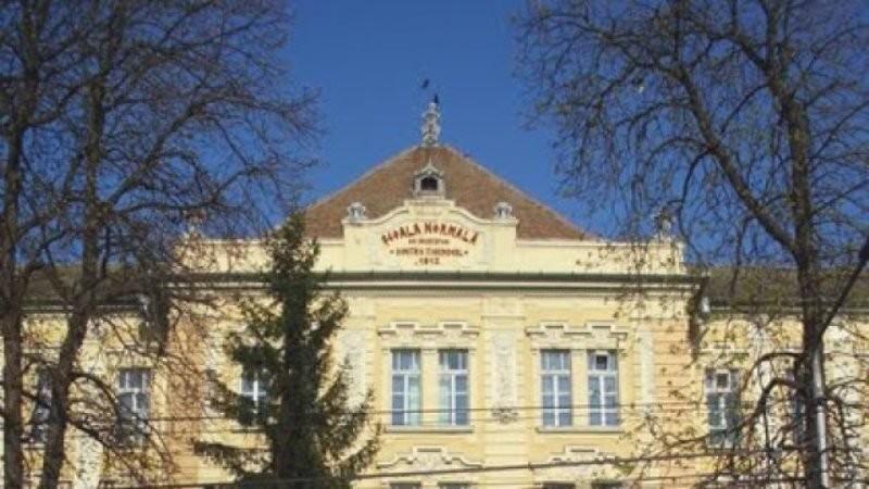 """Şcoală online la Colegiul Naţional """"Preparandia-Dimitrie Ţichindeal"""" din cauza coronavirusului"""