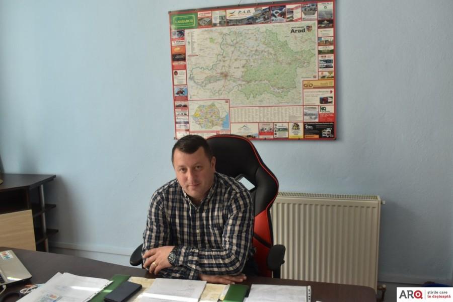Noul primar Nicolae Valea a reînceput  investițiile pentru comuna Archiș
